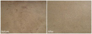 AFTER AND BEFORE CARPET CLEANING