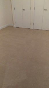 Carpet cleaning on two double bedrooms in E8 area, Dalston, Hackney, London