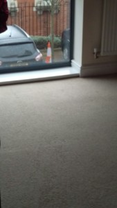 Steam carpet cleaning on two bedroom flat, SW13 area,Barnes, London borough of Richmond upon Thames