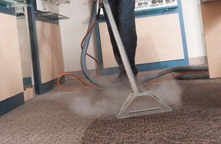 steam carpet clean